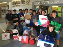 Padres Support Families in Need