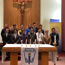 Thirteen Padres Inducted into National Honor Society