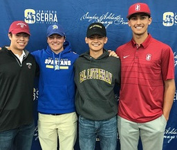 Thirteen Serra Seniors Commit to College Programs on Spring Signing Day