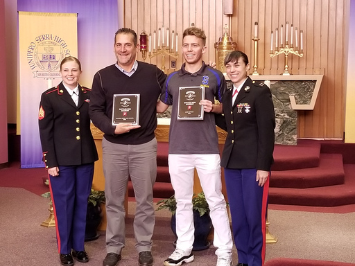 Luke Bottari Honored by U.S. Marine Corps