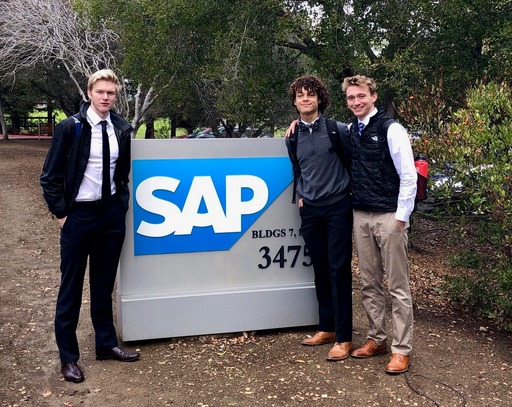 Design Thinking Students Visit SAP