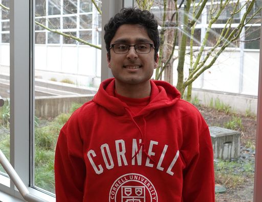 Eric Dias '19 to Attend Cornell University
