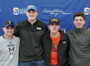 Four Seniors Make College Commitments on Signing Day