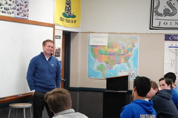 Former Facebook General Counsel Visits Serra