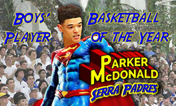 Parker McDonald '19: Daily Journal's Boys' Basketball Player of the Year