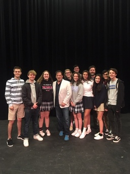 Jeff Foster '78 Shares His Passion for the Stage