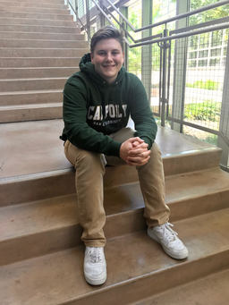 Tommy Collins '19 Pursues Construction Management at Cal Poly