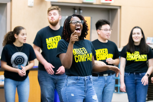 Yale University's Mixed Company A Cappella Group Visits Serra