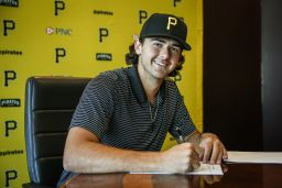 From Padre to Pirate: Nick Garcia '17 Signs With MLB Team