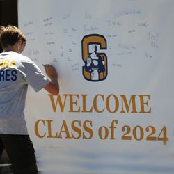 Serra Welcomes New Padres in Person