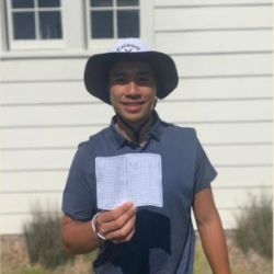 Pro Golfer Isaiah Salinda '15 Breaks Course Record at Cal Club